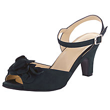Buy John Lewis Freedom Nubuck Sandals, Navy Online at johnlewis.com