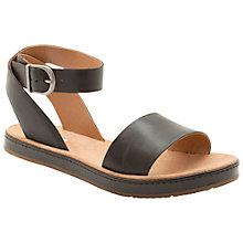 Buy Clarks Romantic Moon Leather Sandals Online at johnlewis.com