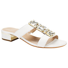 Buy John Lewis Florence Leather Jewel Embellished Sandals Online at johnlewis.com
