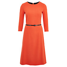 Buy Viyella Ponte Dress, Orange Online at johnlewis.com