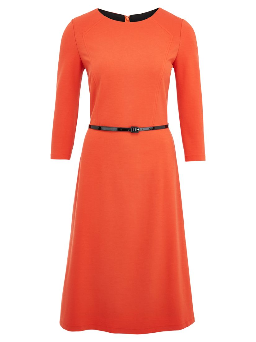 viyella ponte dress orange, viyella, ponte, dress, orange, 10|20|12|16|14|18, clearance, womenswear offers, womens dresses offers, women, plus size, inactive womenswear, new reductions, womens dresses, special offers, 1717244