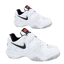 Buy Nike Children's City Court Trainers, White Online at johnlewis.com
