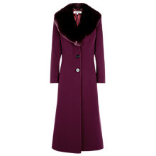 Buy Jacques Vert Long Fur Collar Coat Online at johnlewis.com
