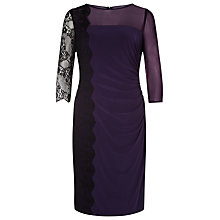 Buy Kaliko Lace Panel Jersey Dress Online at johnlewis.com