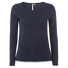 Buy White Stuff Plain Talkin Jumper, Navy Online at johnlewis.com