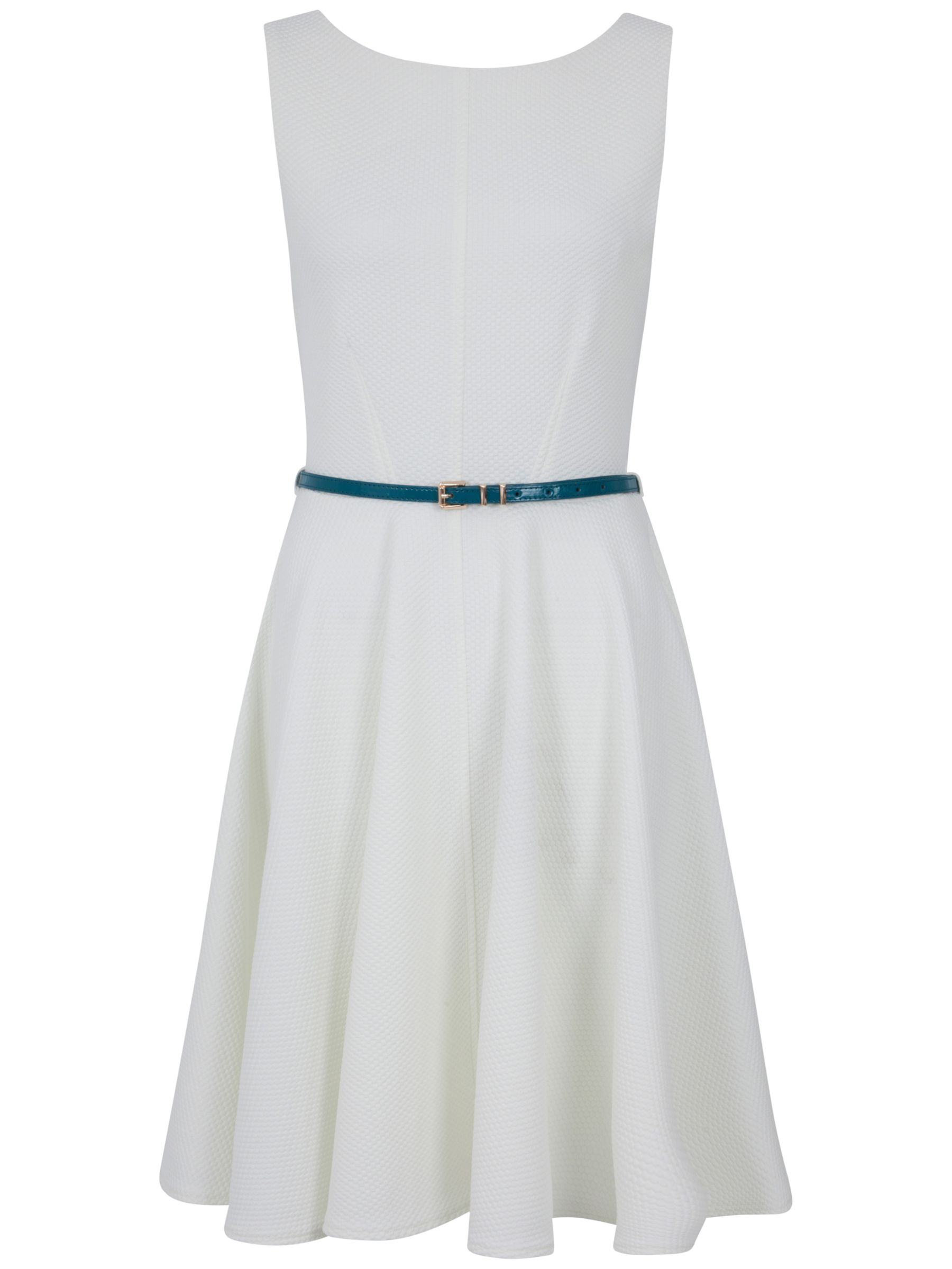 almari waffle belted dress ivory, almari, waffle, belted, dress, ivory, 8|14|12|10, clearance, womenswear offers, womens dresses offers, women, inactive womenswear, new reductions, womens dresses, buy now save for spring, special offers, 1757189