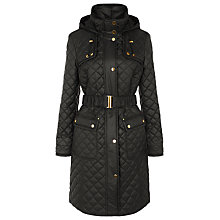 Buy Planet Check Quilted Coat Online at johnlewis.com
