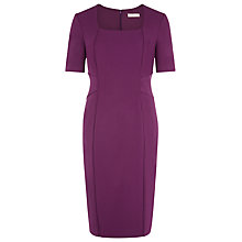 Buy Planet Tailored Shift Dress, Wine Online at johnlewis.com