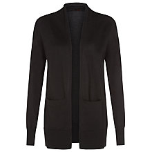Buy Planet Merino Wool Cardigan, Black Online at johnlewis.com