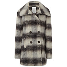 Buy White Stuff Chattsworth Check Coat, Greyhound Online at johnlewis.com