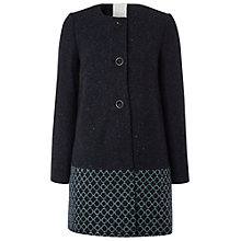 Buy White Stuff Chiriko Mix N Match Coat, Navy Online at johnlewis.com