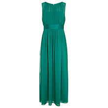 Buy Kaliko Ruched Chiffon Maxi Online at johnlewis.com