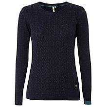 Buy White Stuff Apple Cross Cable Jumper Online at johnlewis.com