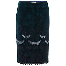 Buy White Stuff Wild Wood Skirt, Hummingbird Online at johnlewis.com