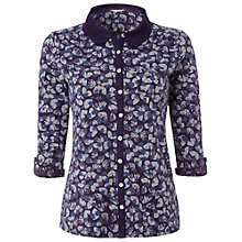 Buy White Stuff Whisper Shirt, Purple Fable Online at johnlewis.com