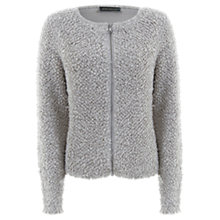 Buy Mint Velvet Wooly Cardigan, Neutral Online at johnlewis.com
