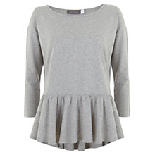 Buy Mint Velvet Peplum T-Shirt Online at johnlewis.com