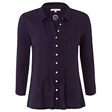 Buy White Stuff Fable Lilly Shirt, Purple Fable Online at johnlewis.com