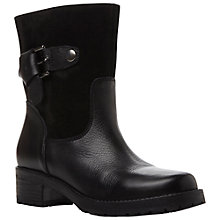 Buy Bertie Raspberry Leather Calf Boots Online at johnlewis.com