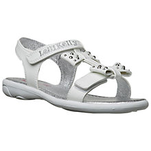 Buy Lelli Kelly Xena Sandals, White/Silver Online at johnlewis.com