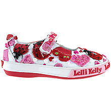 Buy Lelli Kelly Dolly Ladybird Shoes, Pink/White Online at johnlewis.com