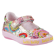 Buy Lelli Kelly Rainbow Shoes, Multi Online at johnlewis.com
