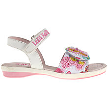 Buy Lelli Kelly Maisie Sandals, White/Pink Online at johnlewis.com