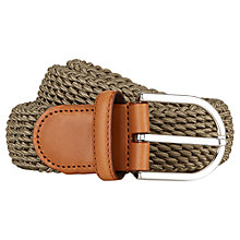 Buy Aquascutum Treccia Belt Online at johnlewis.com