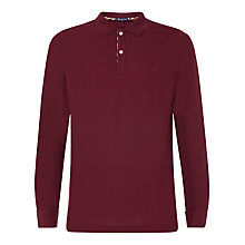 Buy Aquascutum Long Sleeve Pique Polo Shirt Online at johnlewis.com