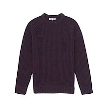 Buy Reiss Woodville Fisherman Knit Jumper Online at johnlewis.com