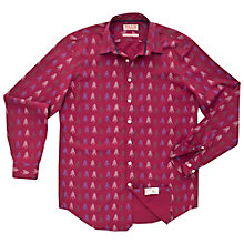 Buy Thomas Pink Albany Christmas Tree Shirt, Deep Red/Green Online at johnlewis.com