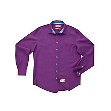 Buy Thomas Pink Blake Check Shirt, Purple/Blue Online at johnlewis.com