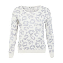 Buy Miss Selfridge Fluffy Animal Jumper, Multi Online at johnlewis.com
