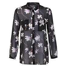 Buy Miss Selfridge Oversized Tulip Shirt, Multi Online at johnlewis.com