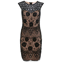 Buy Miss Selfridge Premium Collection Katie Bodycon Dress, Black Online at johnlewis.com