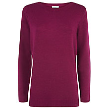 Buy Windsmoor Jumper, Dark Pink Online at johnlewis.com