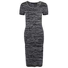 Buy French Connection Autumn Chopin Midi Dress, Black/Melange Online at johnlewis.com