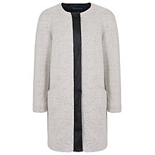 Buy French Connection Alexandra Jacket, White Hare Online at johnlewis.com