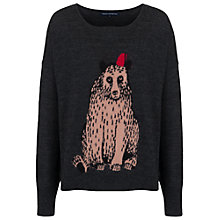 Buy French Connection Funny Fez Wool Jumper, Melange/Multi Online at johnlewis.com