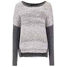 Buy French Connection Twinkle Mix Jumper, Melange/Winter White Online at johnlewis.com