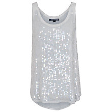 Buy French Connection Winter Mist Vest, Marble Grey Online at johnlewis.com