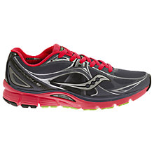 Buy Saucony Mirage 5 Women's Running Shoes, Grey/Red Online at johnlewis.com