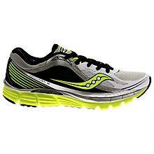Buy Saucony Kinvara Men's Running Shoes, White/Black Online at johnlewis.com