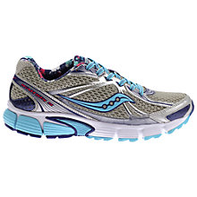 Buy Saucony Ignition 5 Women's Running Shoes, Silver Online at johnlewis.com