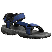 Buy Teva Terro Fi Lite Sandals, Grey/Blue Online at johnlewis.com