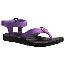 Buy Teva Women's Original Sandals, Purple Online at johnlewis.com