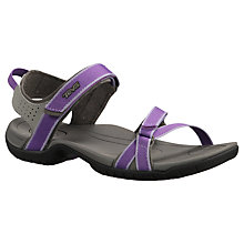 Buy Teva Tirra Sandals, Purple/Grey Online at johnlewis.com