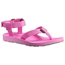 Buy Teva Original Sandals, Pink Online at johnlewis.com