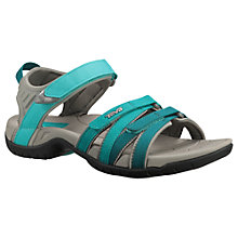 Buy Teva Tirra Sandals, Green/Grey Online at johnlewis.com
