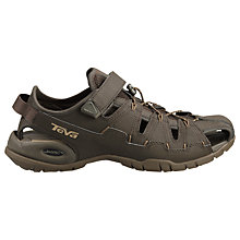Buy Teva Dozer Sandals, Dark Green Online at johnlewis.com